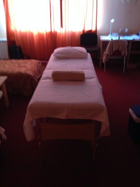 Masáže v hotelu v Estonsku